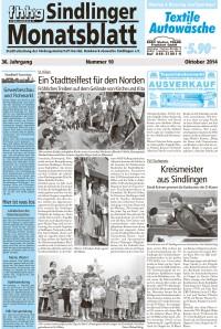 Sindlinger Monatsblatt